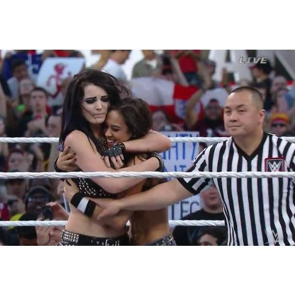 AJ Lee | .a.j. lee | Pinterest liked on Polyvore featuring wwe