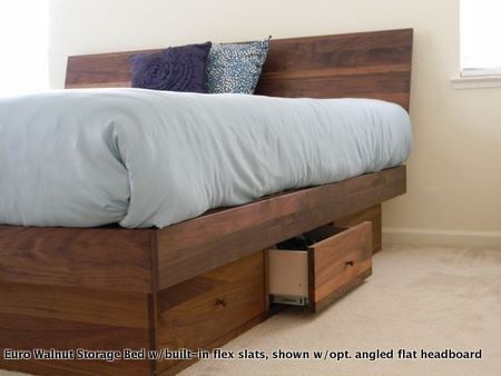wood joinery bed designs drawers - Google Search | bed build | Pinterest
