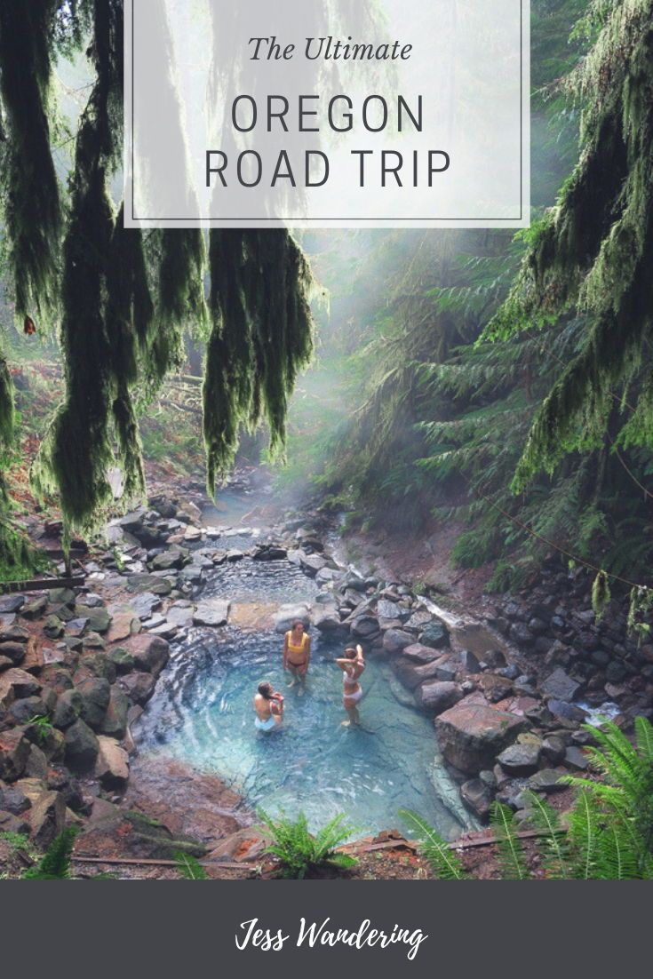 The Best Places To Go On The Ultimate Oregon Road Trip — Blog — Jess Wandering