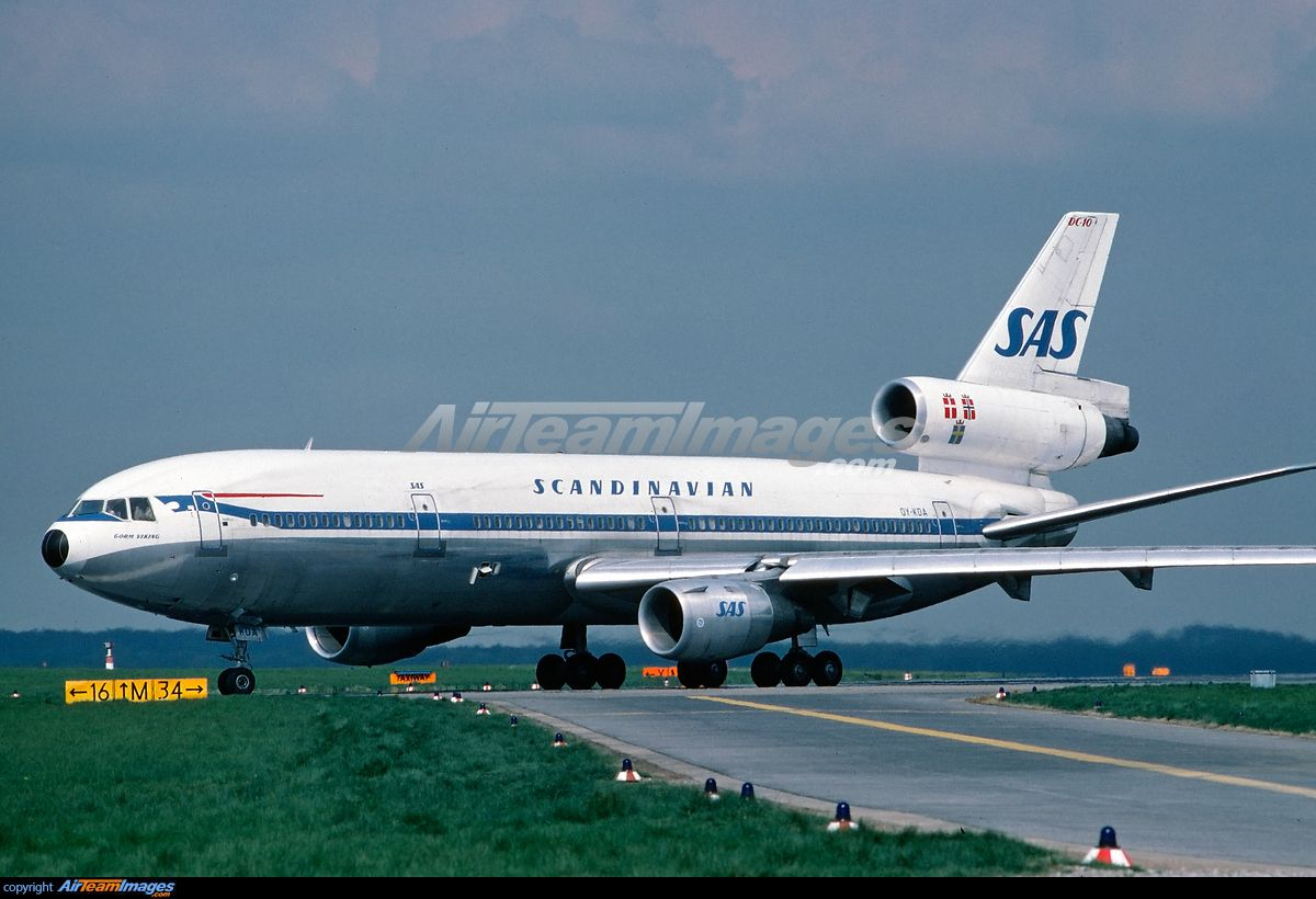 Scandinavian Airlines System Sas Mcdonnell Douglas Dc 10 30 Scandinavian Airlines System Airlines Sas Airlines