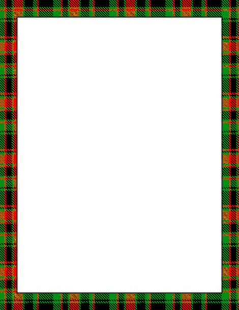 Christmas Borders Free Printable Plaid Wiring Diagrams