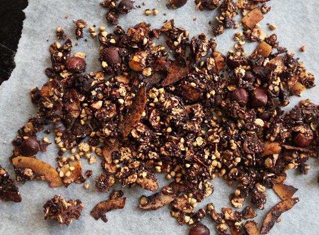 Chunky Chocolate Buckwheat Granola | My New Roots | Bloglovin'