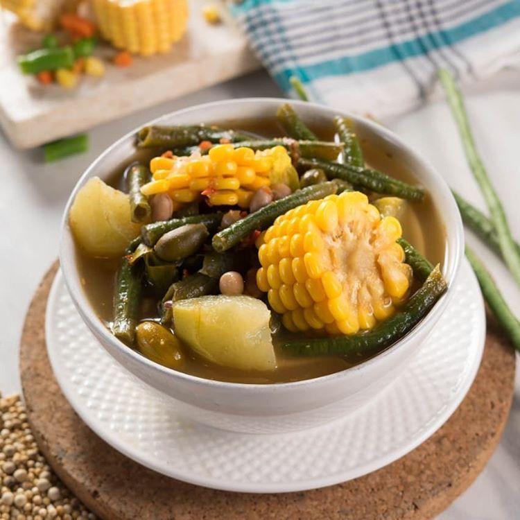 Resep Sayur Asem Komplit Resep Sayuran Resep Resep Masakan Cina