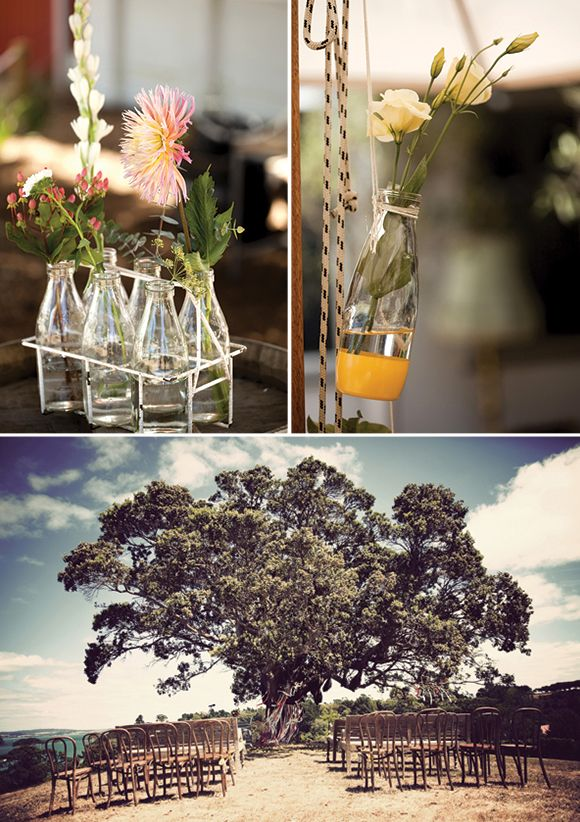 Waiheke Island Wedding by Alice Doig Photography - Venue is The Goldie Room
