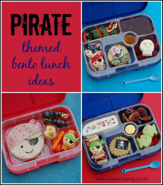 pirate lunches for international talk like a pirate day 2014. Black Bedroom Furniture Sets. Home Design Ideas