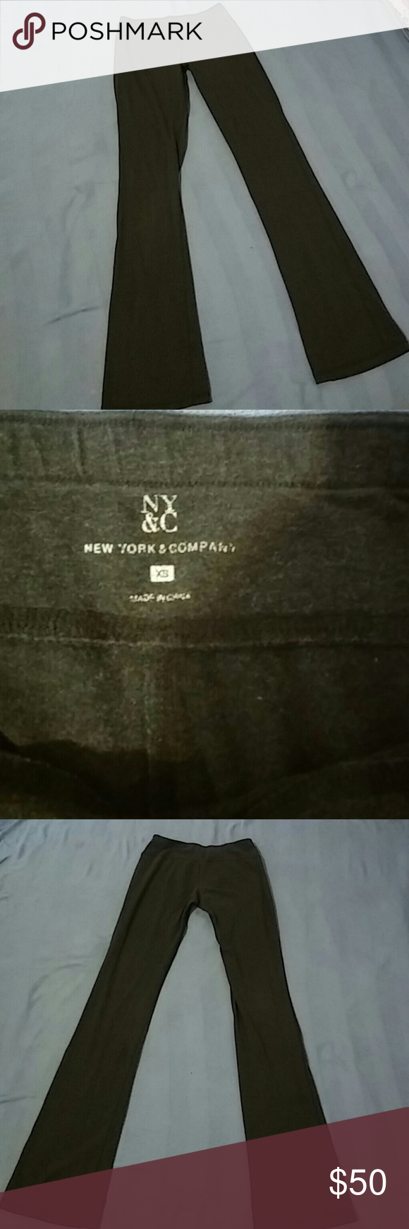 New York Company Pants xSmall (xS) Sport Yoga Stretchy tall xs pants grey verry comfy? New York & Company Pants