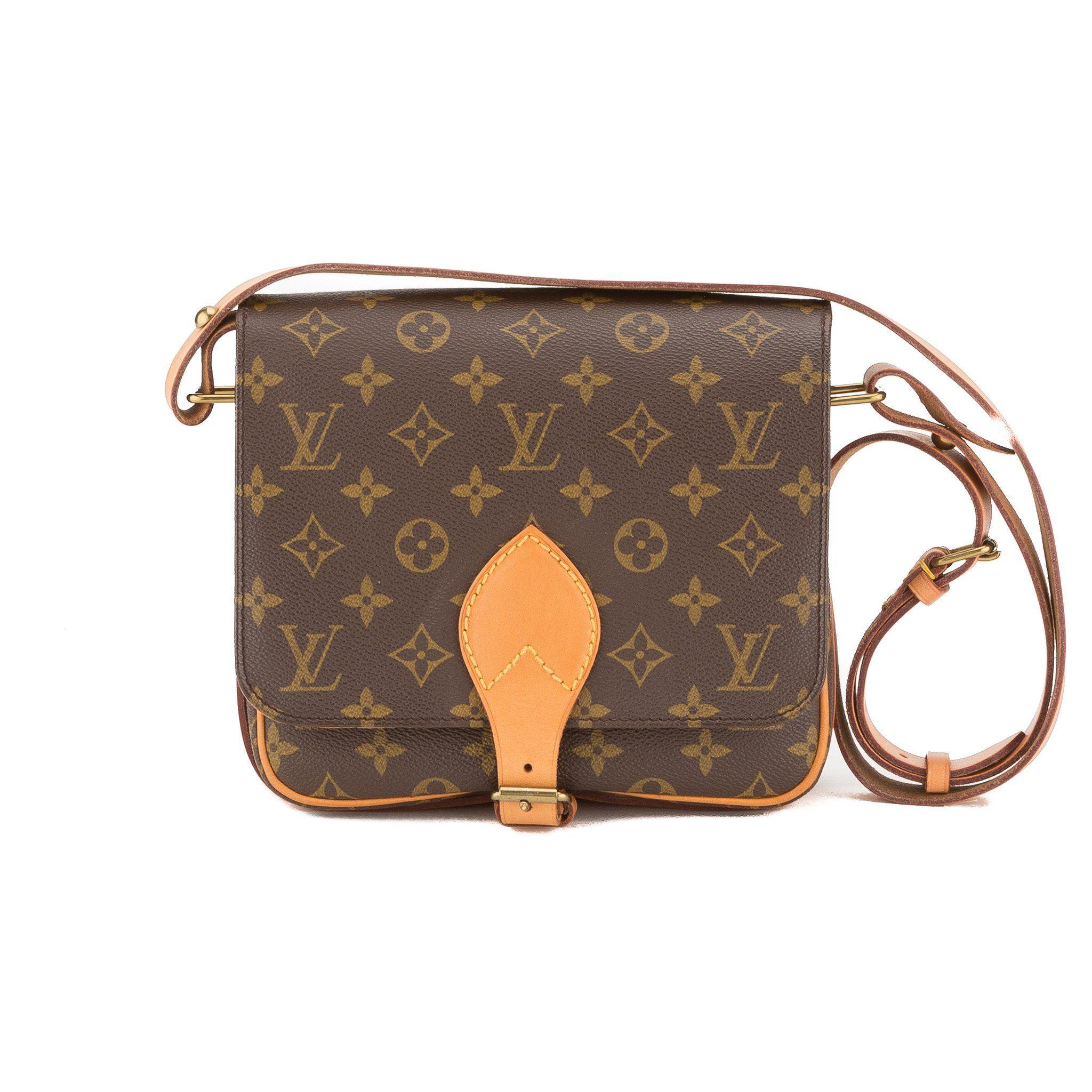 e3ca6f5e98 Louis Vuitton Monogram Cartouchiere Shoulder Bag (Pre Owned ...