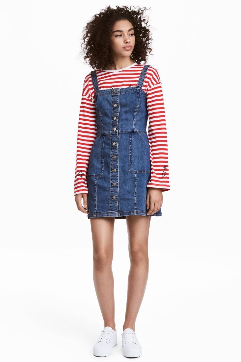 Denim dress currently coveting pinterest dungaree dress