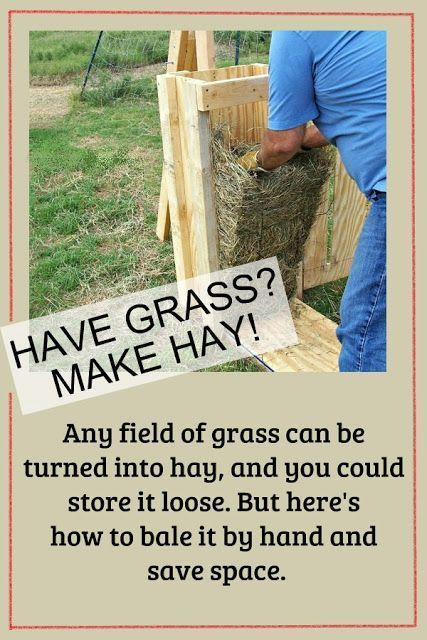 How to Cut and Bale Hay by Hand