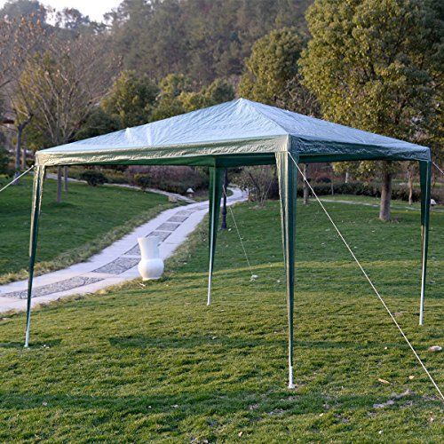 10x10outdoor Canopy Party Wedding Tent Garden Gazebo Pavilion Cater Events Green Want To Know More Click On The Image Garden Gazebo Gazebo Canopy Outdoor