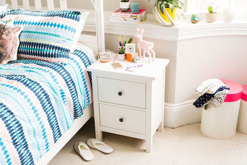 Elegant Side Bed Table Ikea