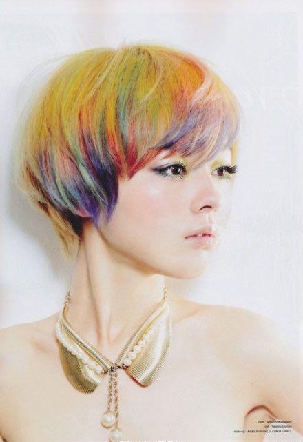 Model Rambut Pendek Wanita - Mushroom bob