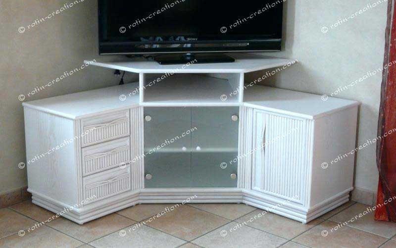 استرخى تضمين دافئ meuble hifi angle