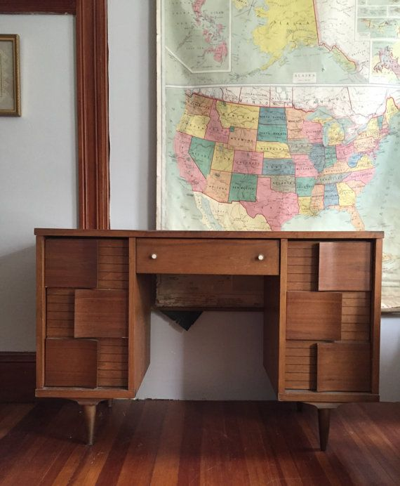 beautiful mid century desk