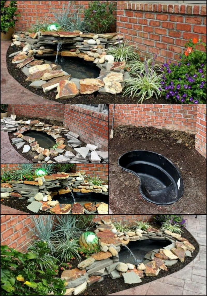 how to build a backyard pond u0026 water feature http