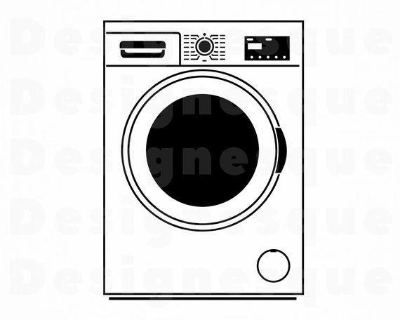 Washing Machine Svg Washer Svg Laundry Machine Svg Washing Etsy Washing Machine Machine Photo Washer