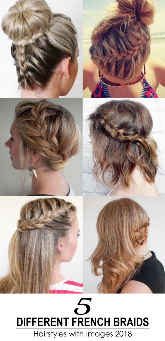 French Braids Are Always Loved By The Girls And Ladies It S A Perfect Styling Option For A Romantic Or Fan Hair Styles Braided Hairstyles Braids For Thin Hair