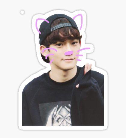 Exo Kpop Stickers   background   Exo, Exo stickers, Exo chen