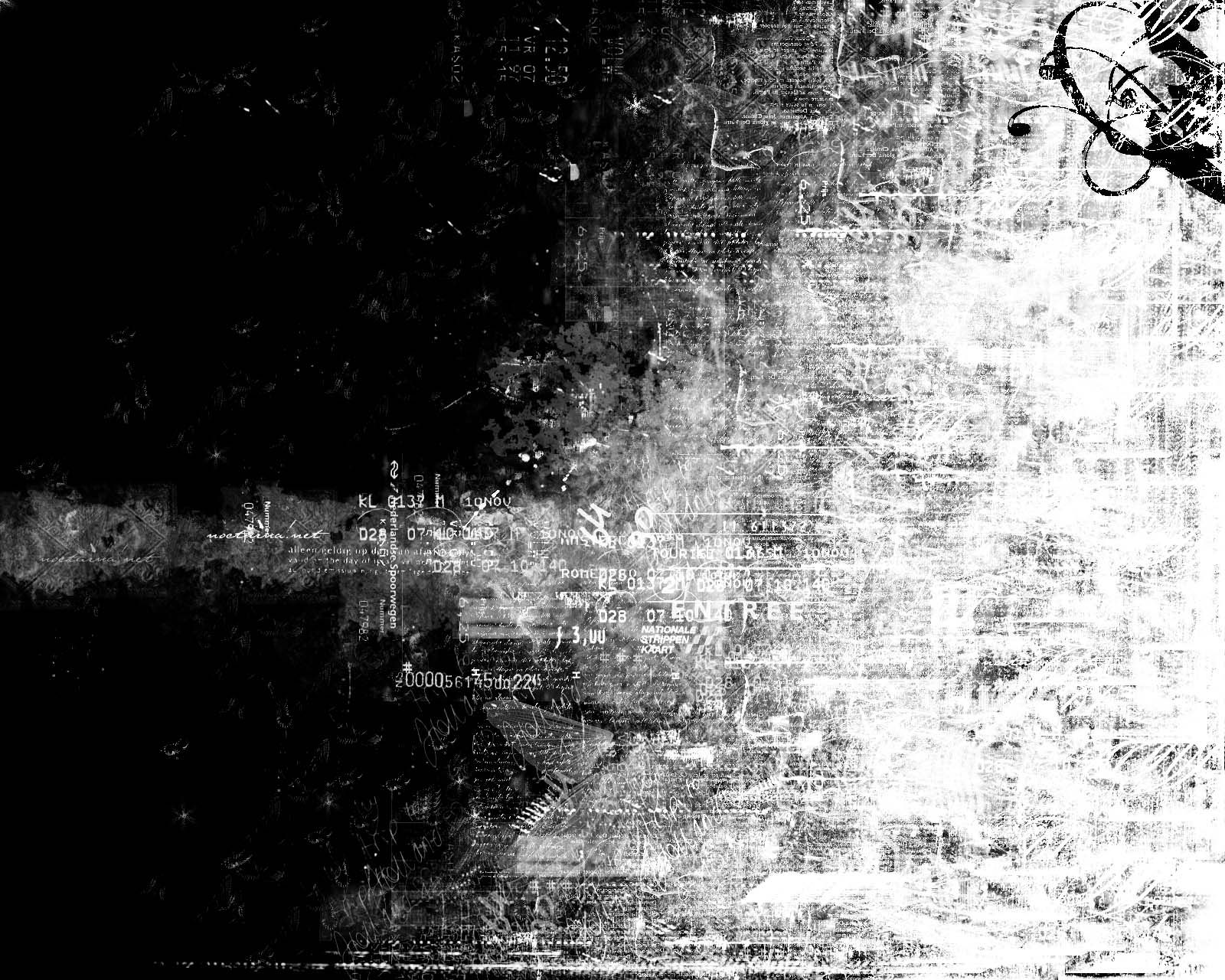 Grunge Snow Black And White Texture Backgrounds