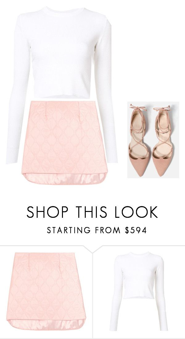 """""""Untitled #1753"""" by telletubbies ❤ liked on Polyvore featuring Miu Miu and Proenza Schouler"""