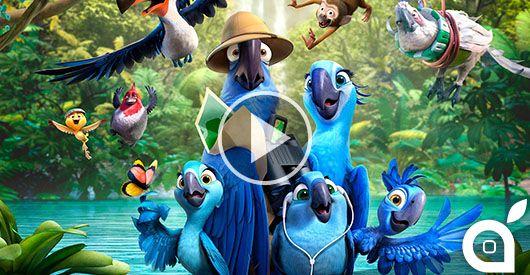 """Dall'omonimo film, Rio 2 """"plana"""" su App Store [Video] - http://mobilemakers.org/dallomonimo-film-rio-2-plana-su-app-store-video/"""