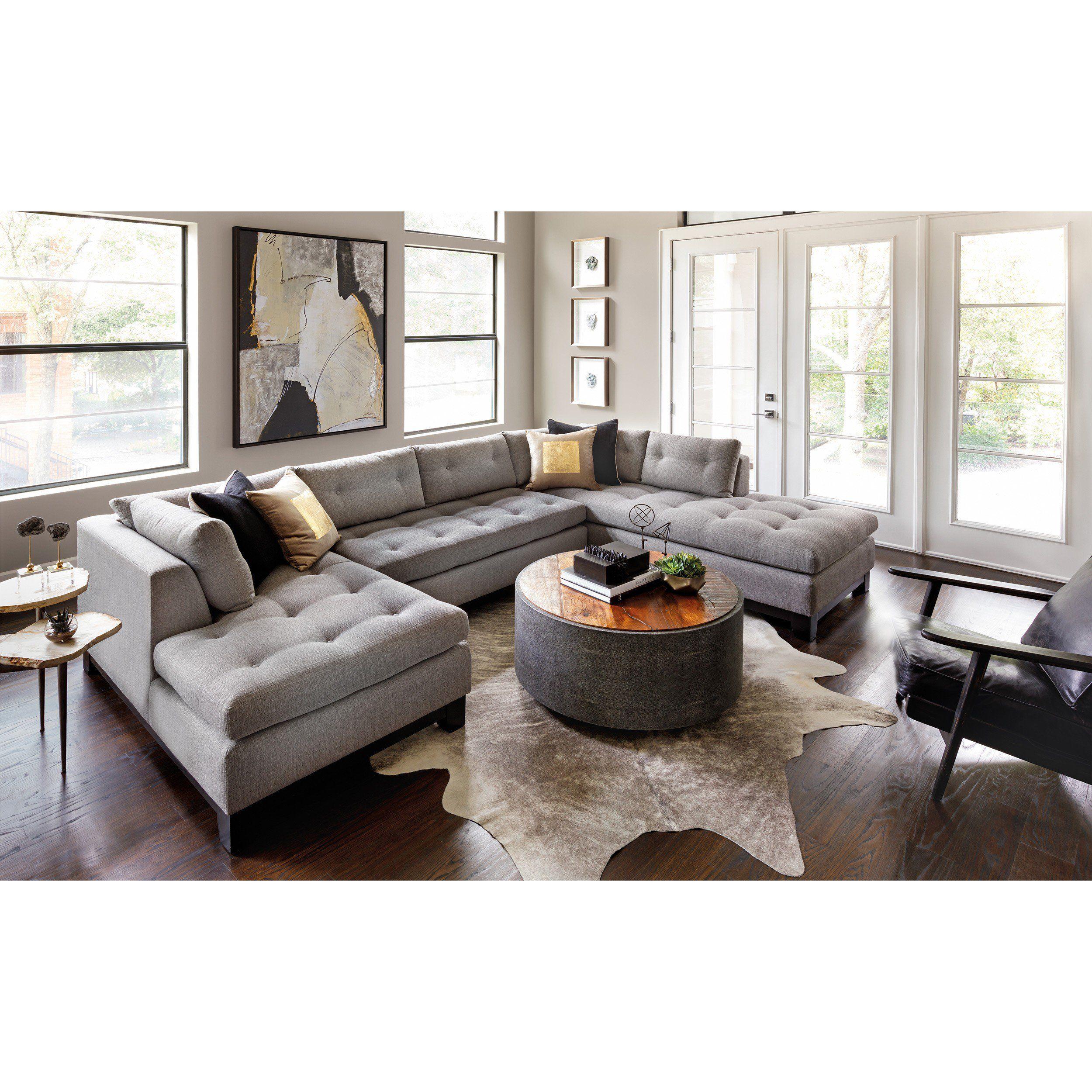 Chandler Sectional Durango Slate Home Living Room Living Room