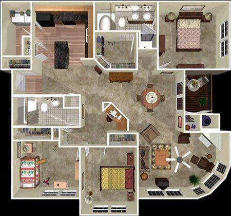Penthouse Floor Plan Floor Plans
