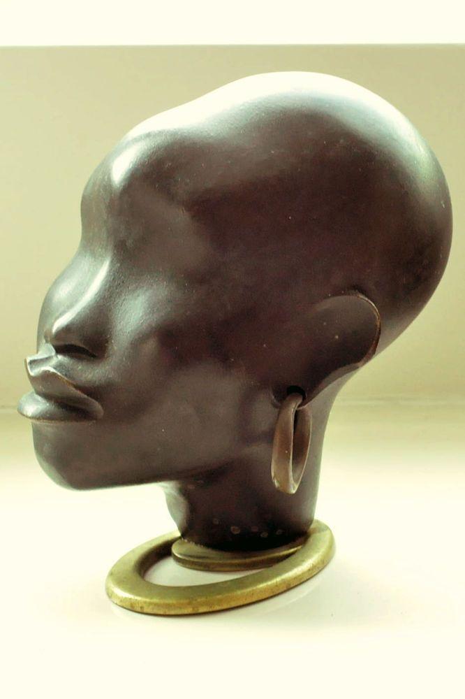 Asian ladies bust bronze ebay