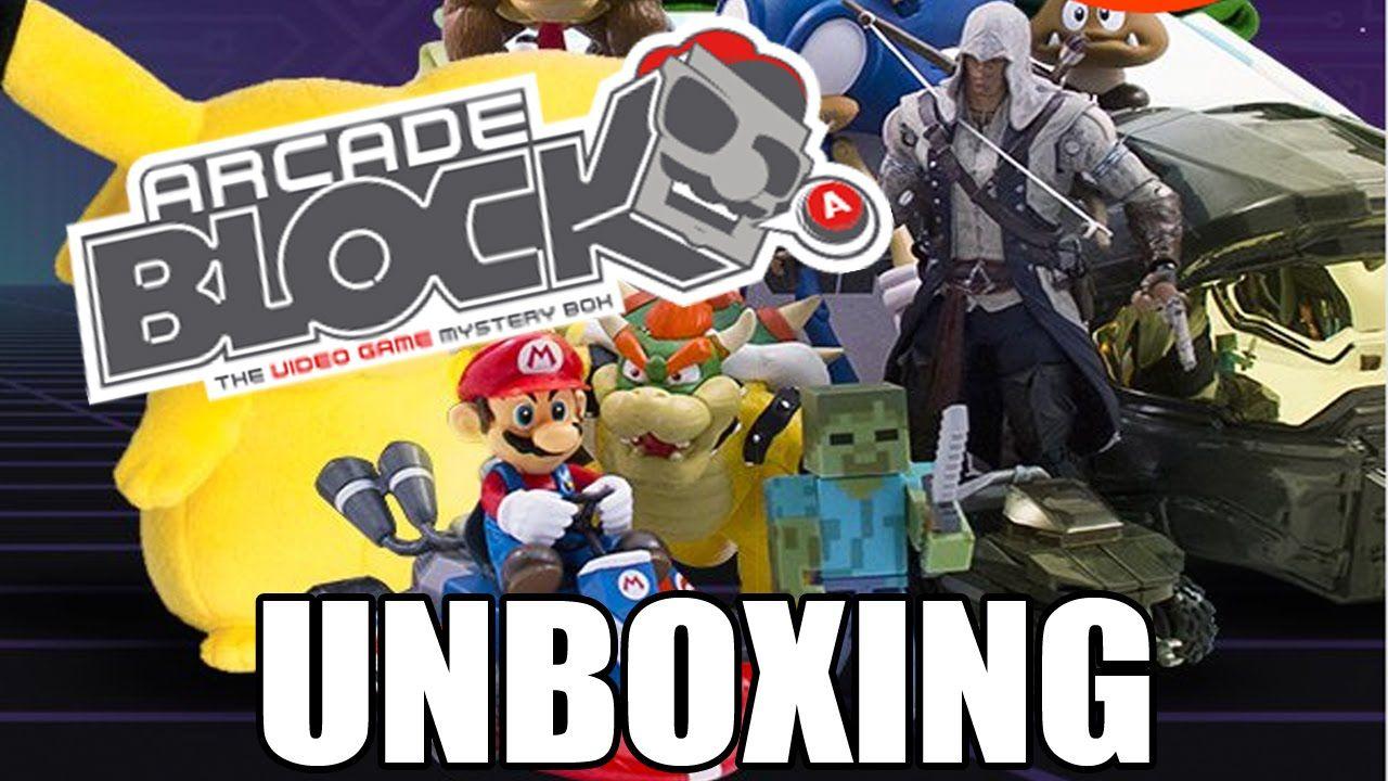 Arcade Block Unboxing! Premiere October 2014 Unboxing