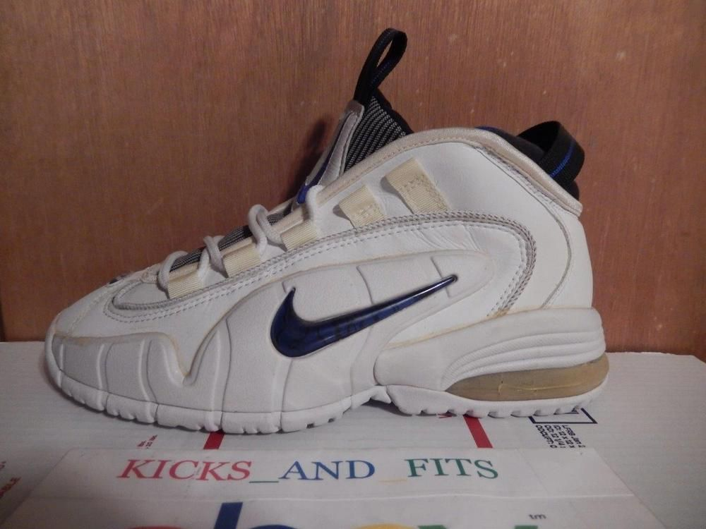 LEFT SHOE ONLY 1995 Nike Air Max Penny 1 White size 9 130241-141 og