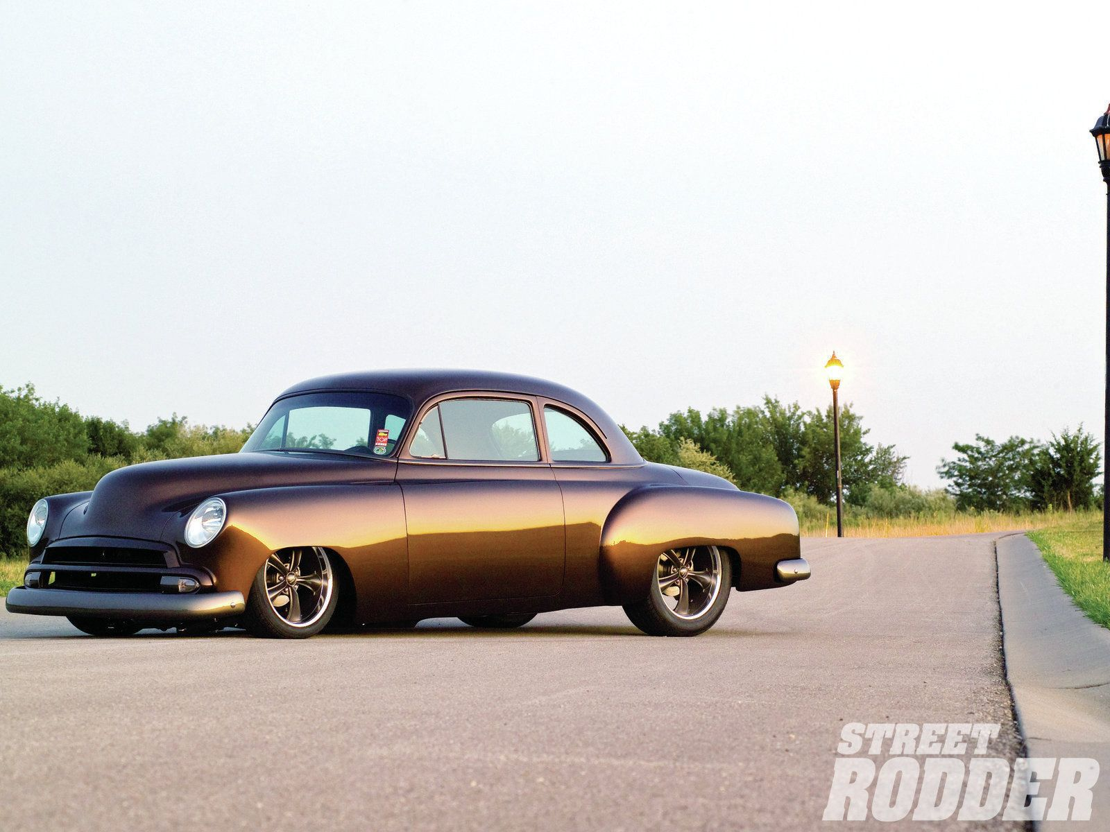 1951 Chevy Business Coupe Street Rodder Magazine Cool Old Cars