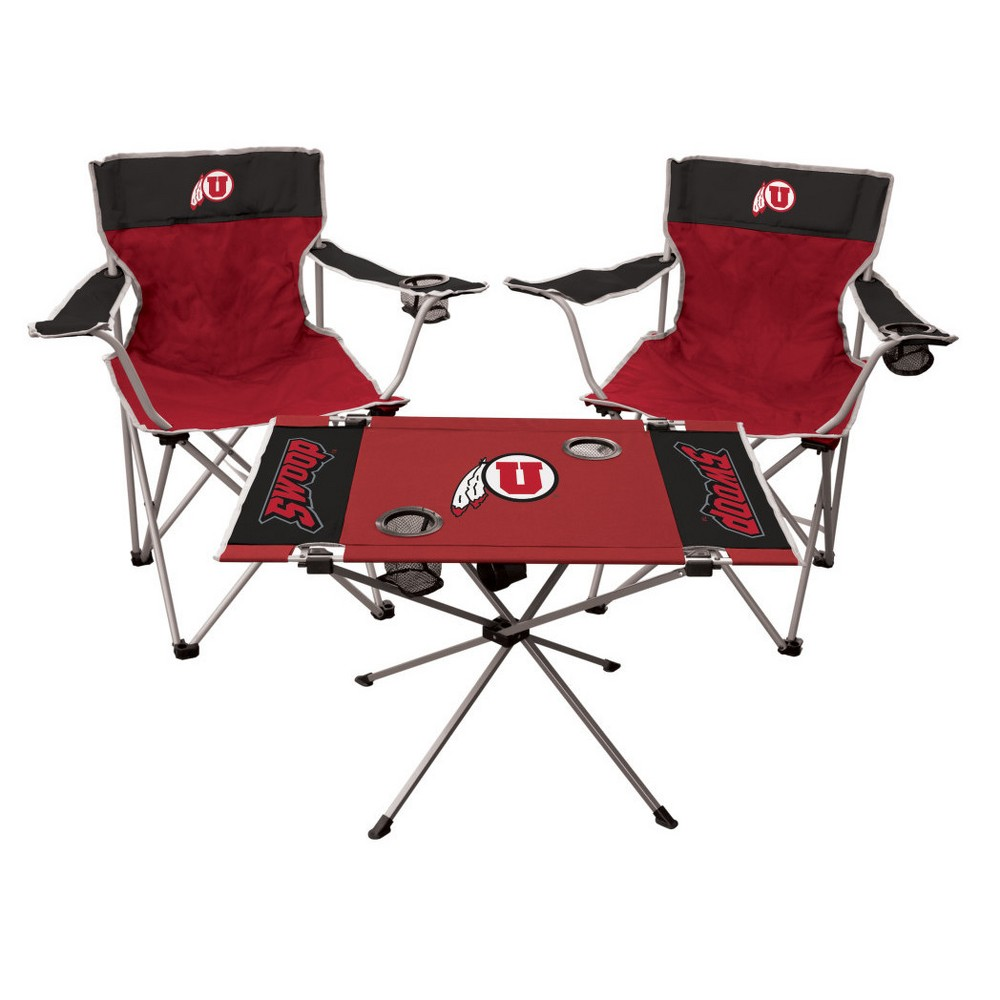 Alabama Crimson Tide Endzone Tailgate Table NCAA Portable Chair Fold Party NEW