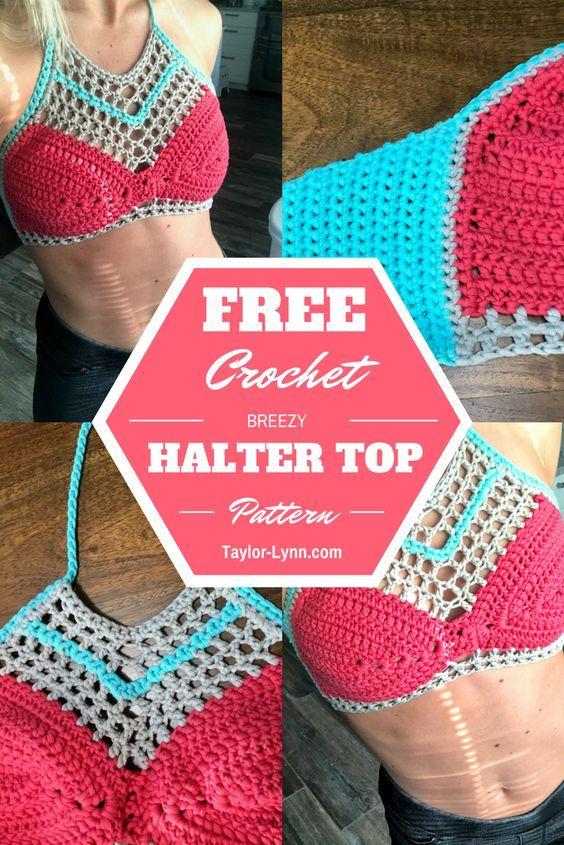 Bikini Top Bikini Crochet Crochet Bikini Knit Swim Swimwear