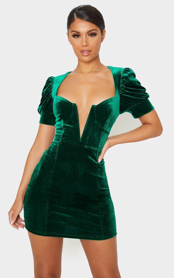 Park Art|My WordPress Blog_Green Bodycon Dress With Sleeves