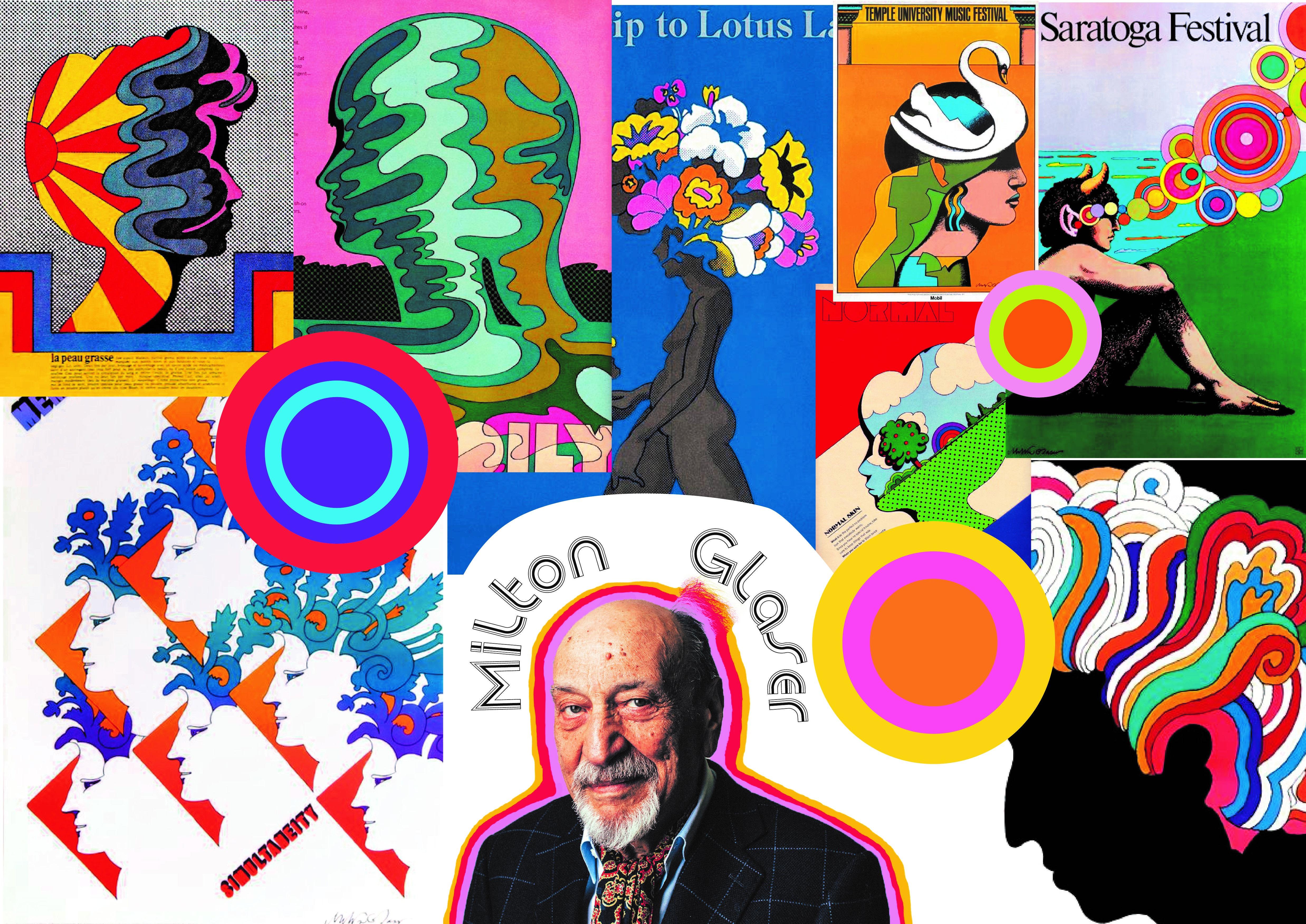 Moodboard - Milton Glaser | Poster, Mood boards
