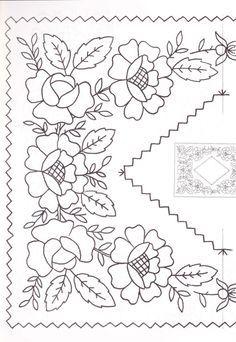 Resultado de imagen para patrones de bordado mexicano  moldes