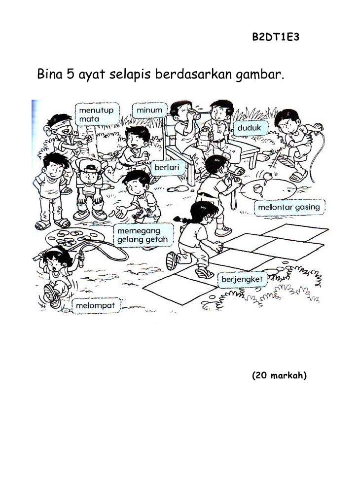 Soalan B Melayu Tahun 2 Malay Language Primary School Education Study Materials
