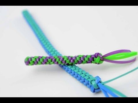 Box And Barrel Lanyards Tutorial Classic Camp Crafts Plastic Lace Plastic Lace Crafts Lanyard Crafts