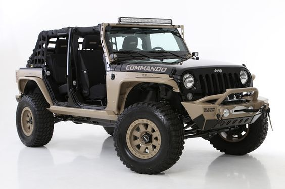 Moab Commando Jeep Concept Vehicle Revealed By Dealer Services
