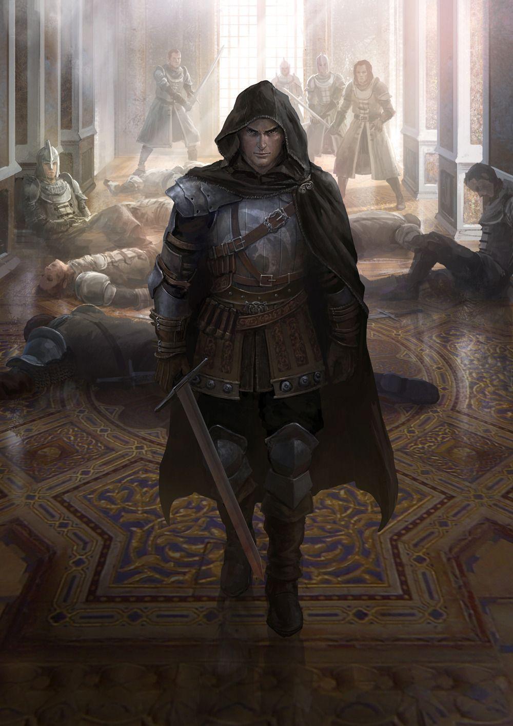 Medieval Bounty Hunter Fantasy Art