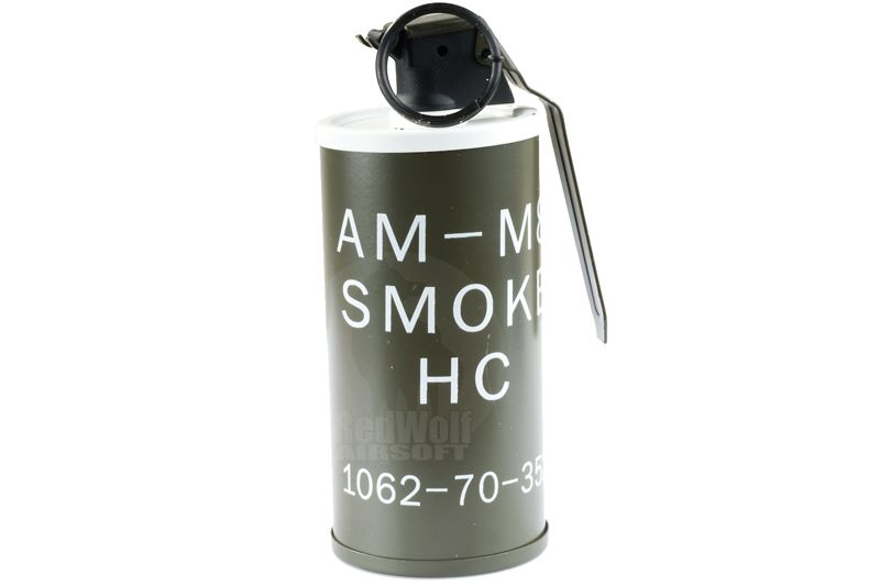 Tmc An M8 Smoke Grenade Dummy Model Airsoft Accessories Online From Redwolf