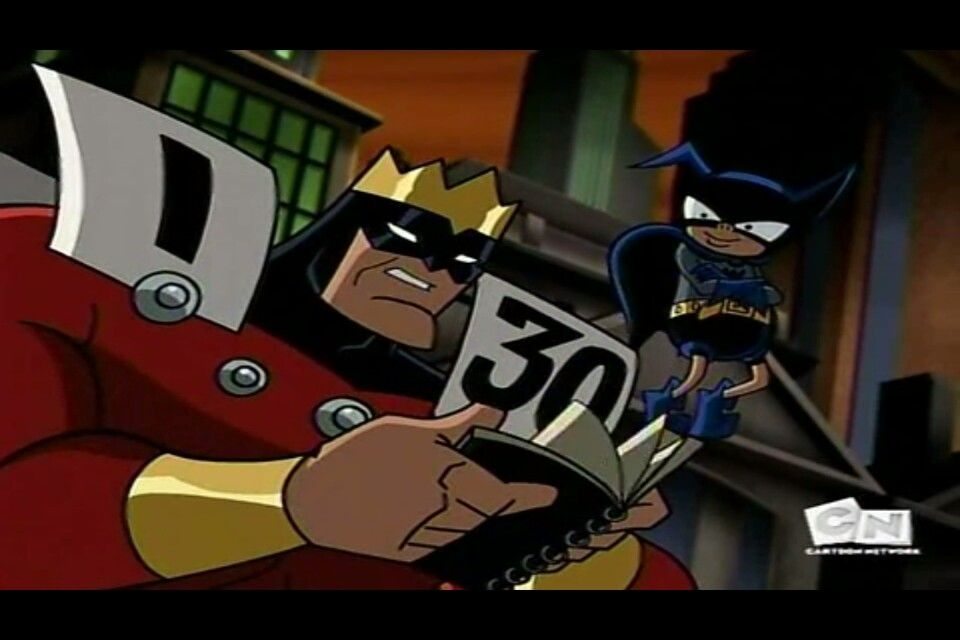 Batman Brave And The Bold Super Calendar Man And Bat Mite With
