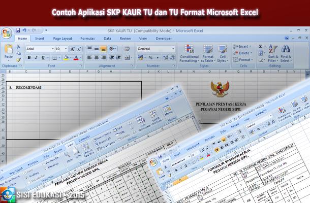 Pin Di Aplikasi Dan Berkas Pendidikan Gratis Aplikasi Skp Kaur Tu Dan Tata Usaha Sekolah Menggunakan Microsoft Excel Terbaru Download Gratis