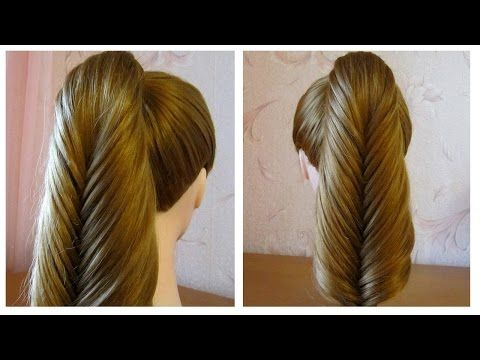 tuto coiffure simple cheveux long coiffure tresse facile a faire soi meme youtube cloe. Black Bedroom Furniture Sets. Home Design Ideas