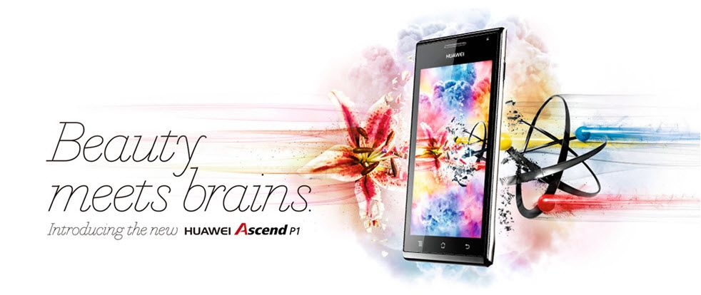 HUAWEI Ascend P1 Smartphone | 3G/4G LTE Mobile Devices