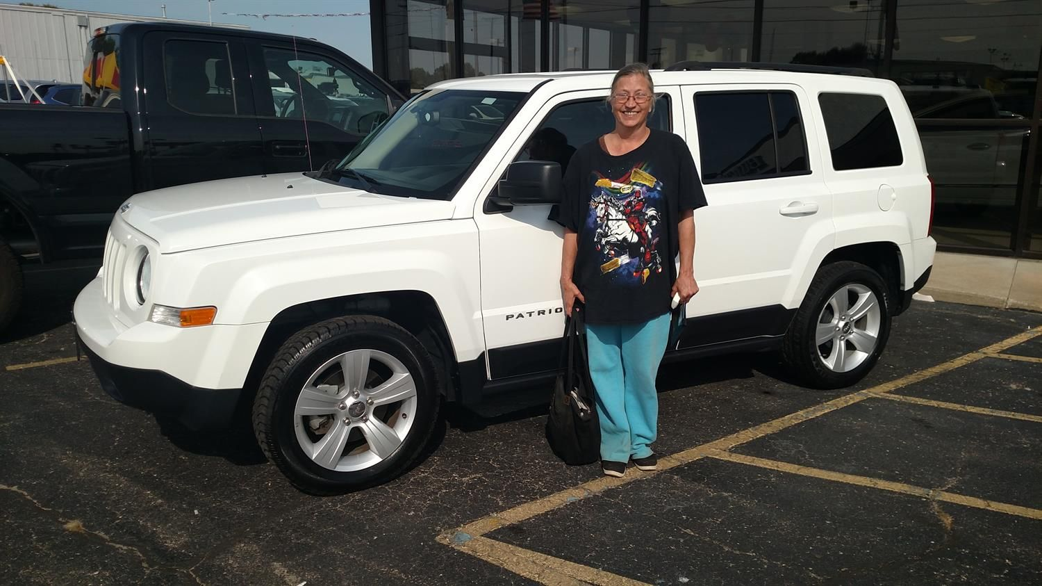 Awesome Congratulations To Kathryn On Your New 2016 Jeep Patriot