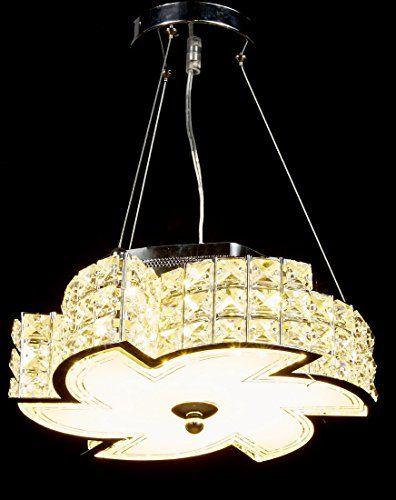 Diamond Life Modern LED Crystal Chandelier Pendant Hanging or ...