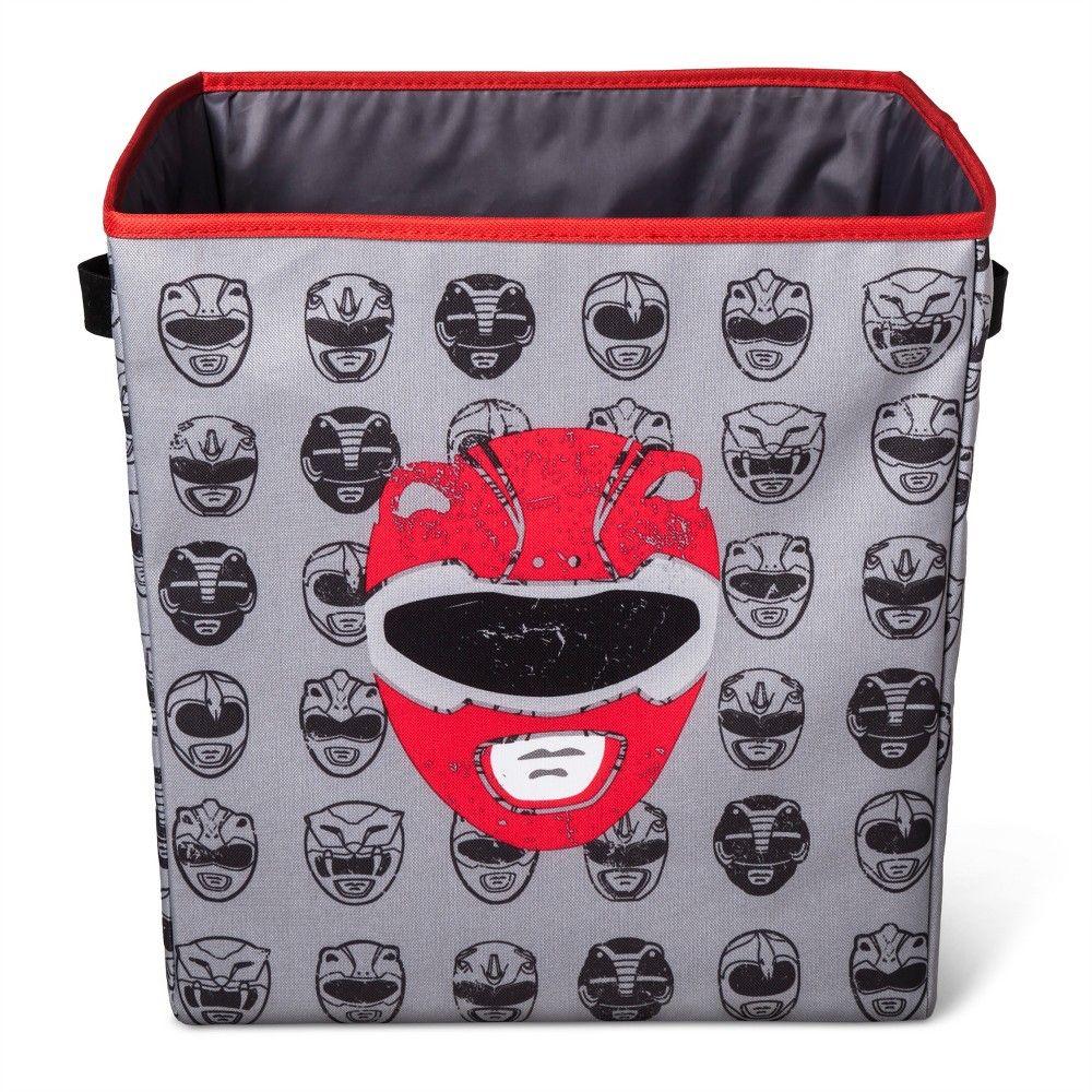 Power Rangers Storage Bin 13 Quot X13 Quot Gray Grey Storage