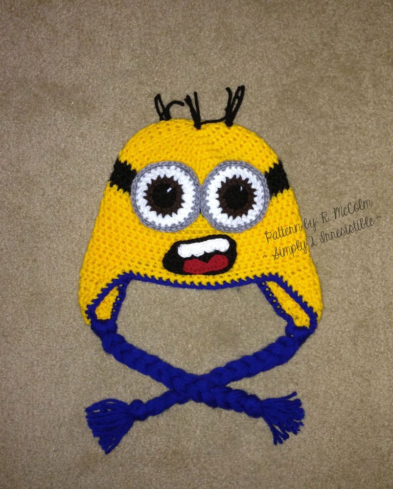 Minion beanie and earflap pattern minion beanie minion hats and image of minion beanie and earflap pattern bankloansurffo Image collections