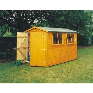 Goodwood Atlas Professional Tongue And Groove Apex Shed 10 X 6 595 00 Various Sizes Available Shed Shiplap Timber Garden Shed